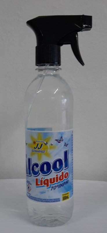ÁLCOOL 500ML SPRAY JJ 70°
